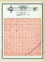 Township 26 Range 16, Swan, Holt County 1915